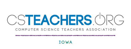 Computer science teachers association Iowa Chapter logo