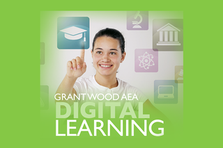 The Grant Wood AEA Digital Learning Team Logo