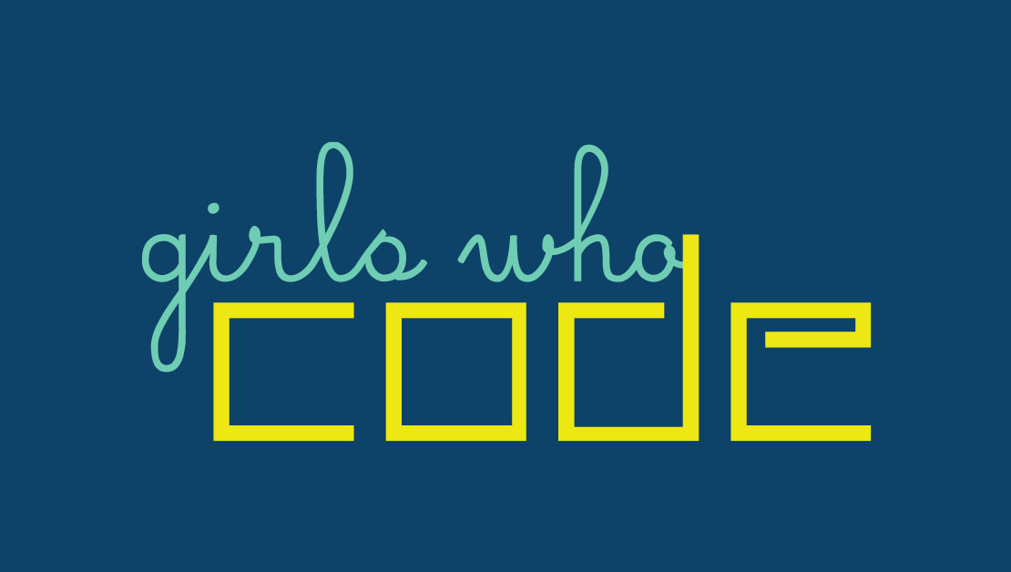 Girls who Code logo with text